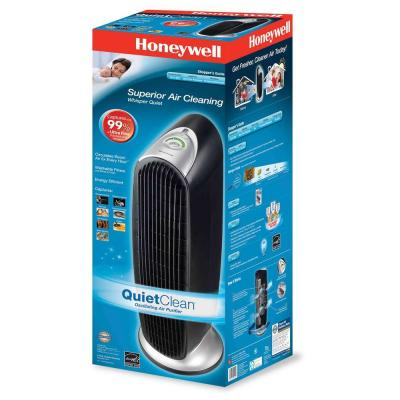 honeywell hfd-120-q tower hepaquiet air purifier